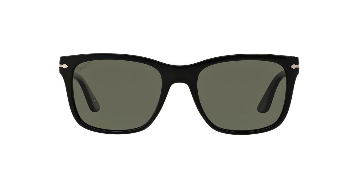 PERSOL Black PO3135S 55 Green polarized lenses 55mm
