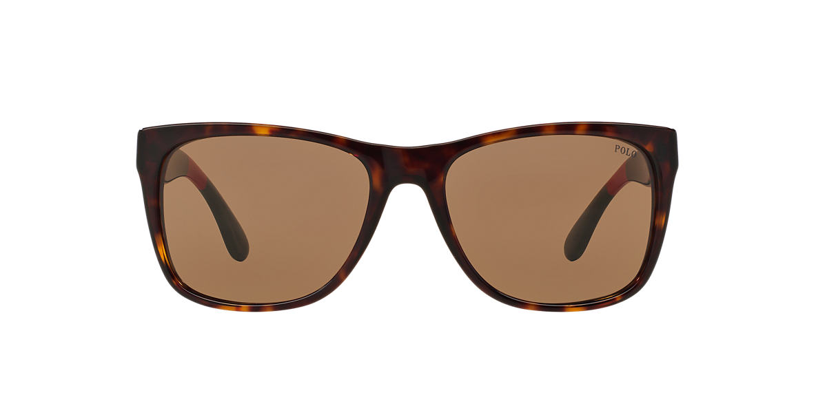POLO RALPH LAUREN Tortoise PH4106 57 Brown lenses 57mm