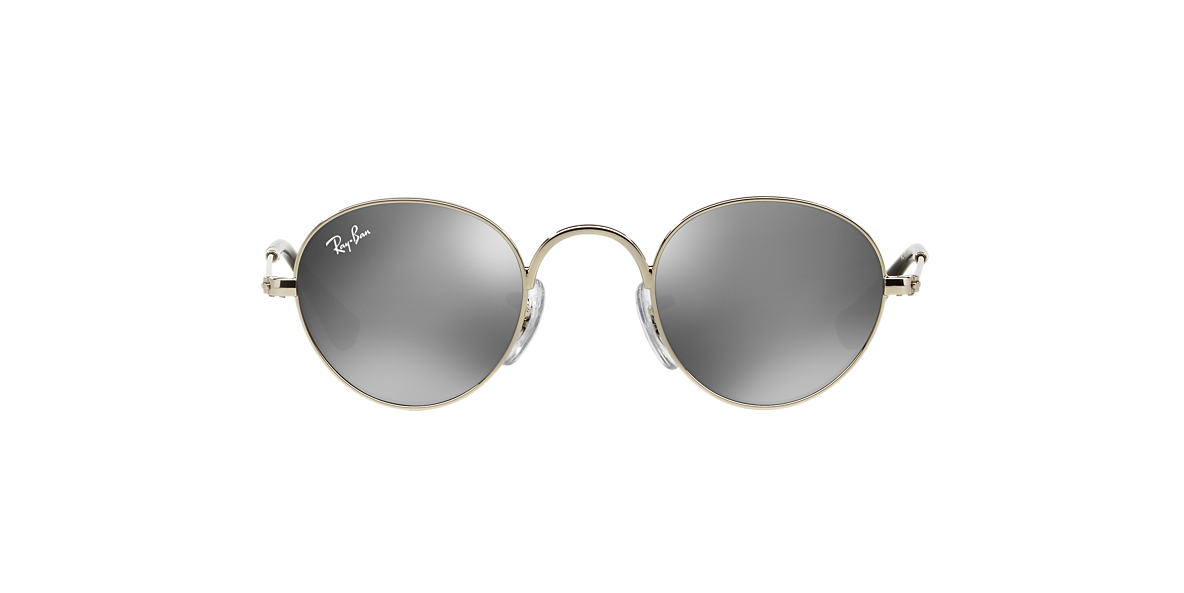 RAY-BAN CHILDRENS Silver Shiny RJ9537S 40 Silver lenses 40mm