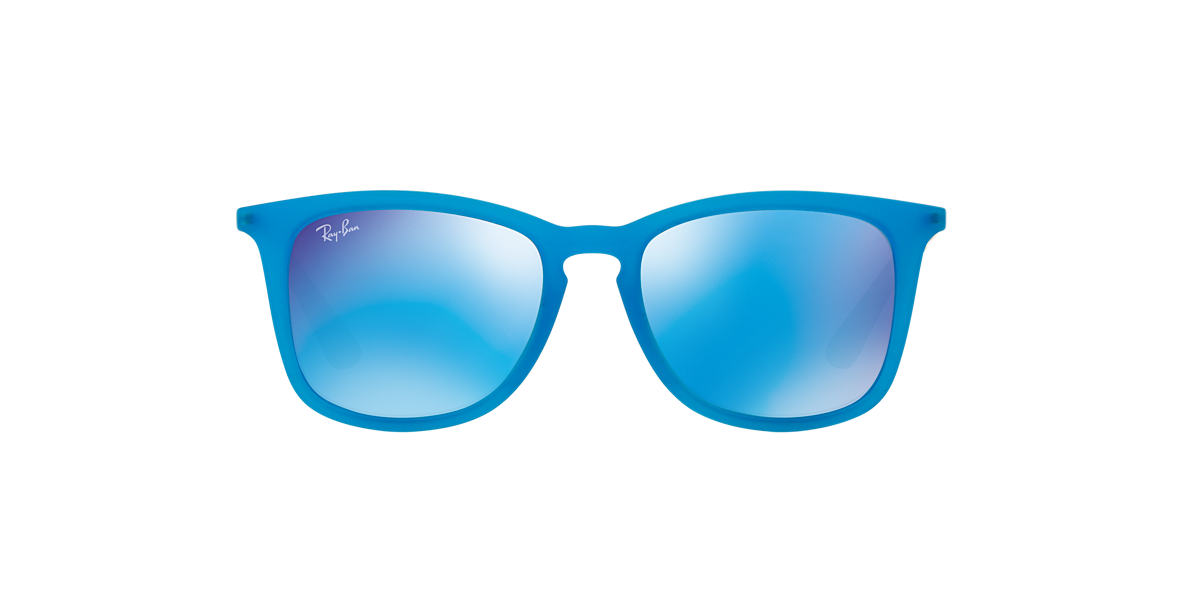 RAY-BAN CHILDRENS Blue RJ9063S 48 Blue lenses 48mm