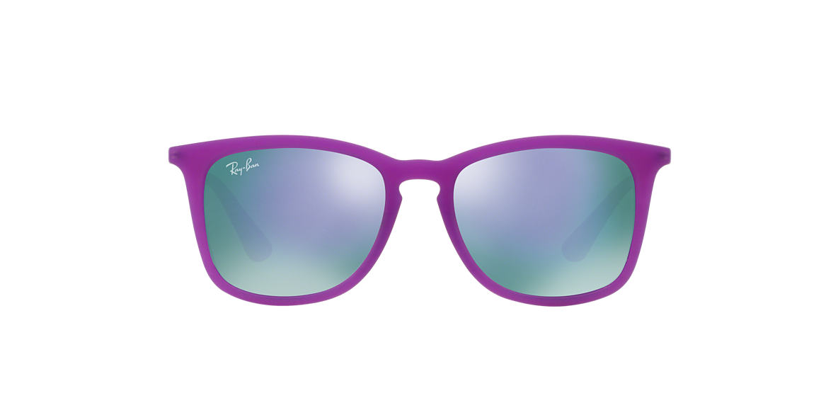RAY-BAN CHILDRENS Purple RJ9063S 48 Purple lenses 48mm