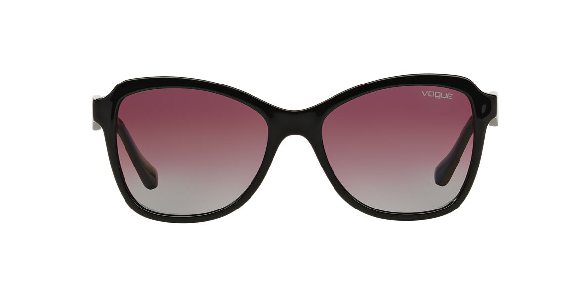 VOGUE LINE Black VO2959S 54 Purple polarized lenses 54mm