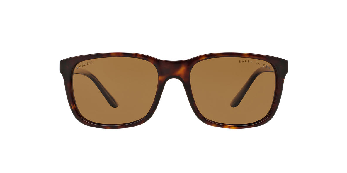 RALPH LAUREN Brown RL8142 56 Brown polarised lenses 56mm