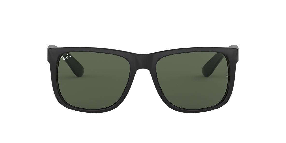 Ray-Ban RB4165 54 JUSTIN 54 Green & Black Sunglasses
