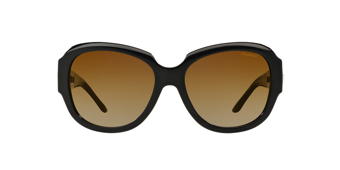 VERSACE Black VE4304 57 Brown polarized lenses 57mm