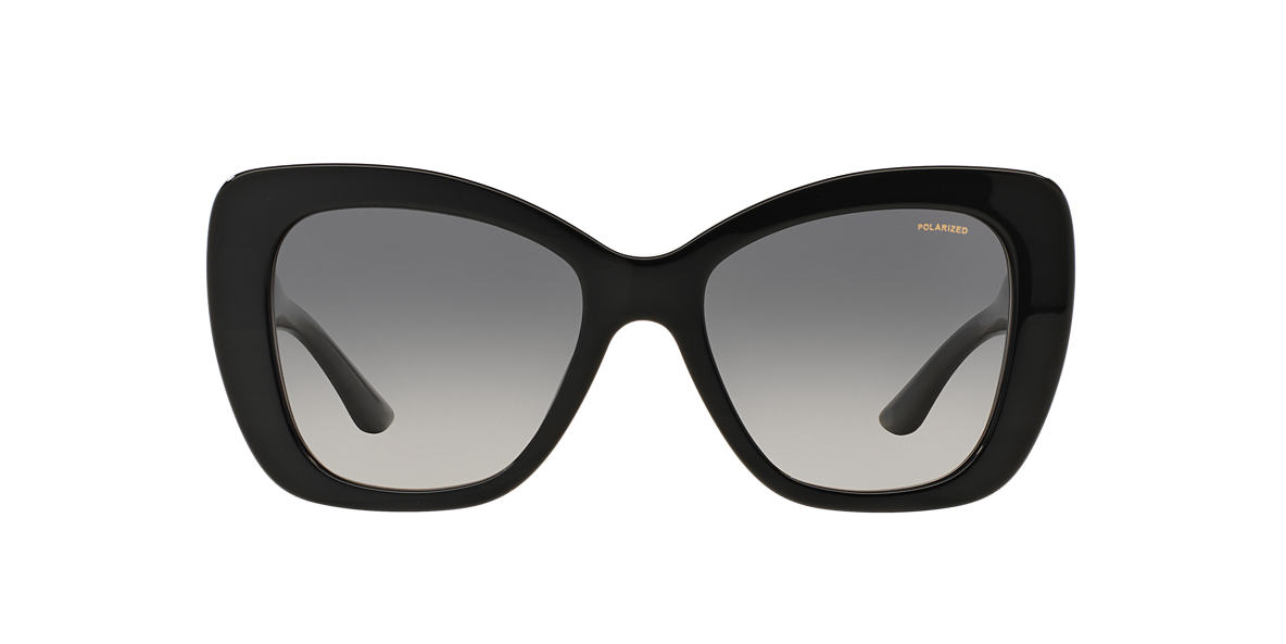 VERSACE Black VE4305Q 54 Grey polarized lenses 54mm