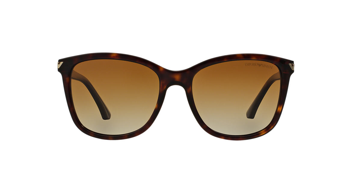 EMPORIO ARMANI Tortoise EA4060 56 Brown polarized lenses 56mm