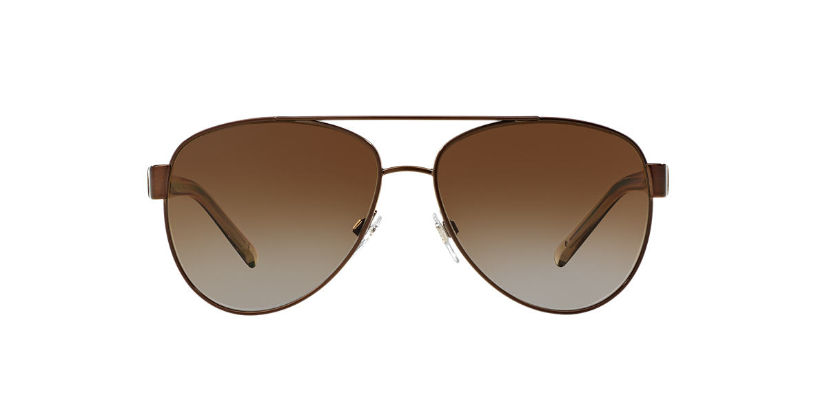 BURBERRY Brown BE3084 Brown polarised lenses 57mm