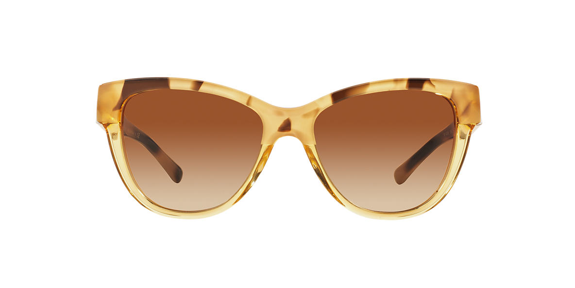 BURBERRY Gold BE4206 55 Brown lenses 55mm