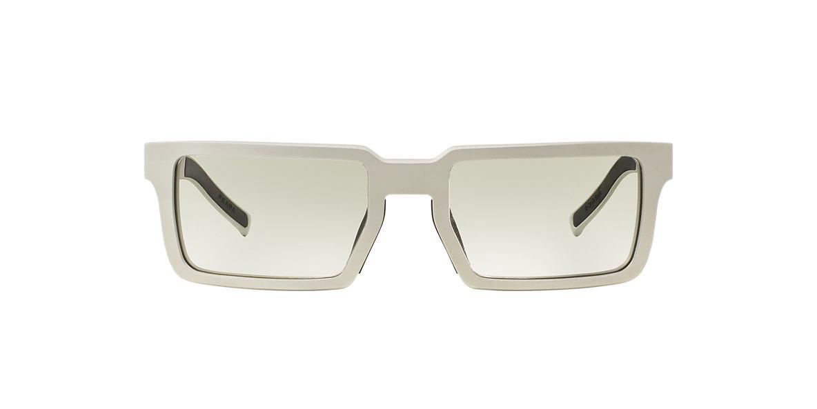PRADA Silver Matte PR 50SS 51 Grey lenses 51mm