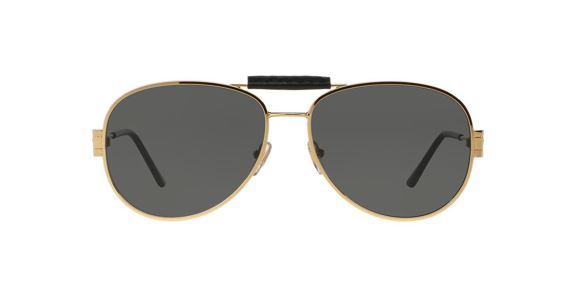 VERSACE Gold VE2167Q 60 Grey lenses 60mm