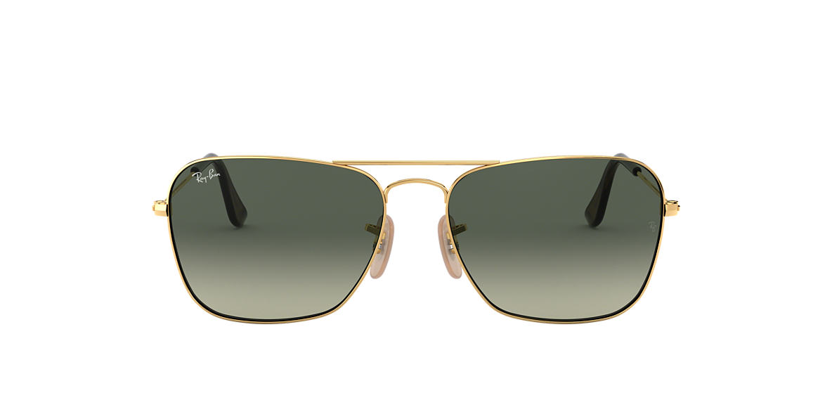 RAY-BAN Gold RB3136 58 Grey lenses 58mm