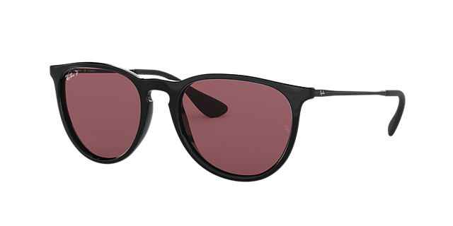 Ray Ban Rb3016 49 Red Polarized Clubmaster Sunglasses