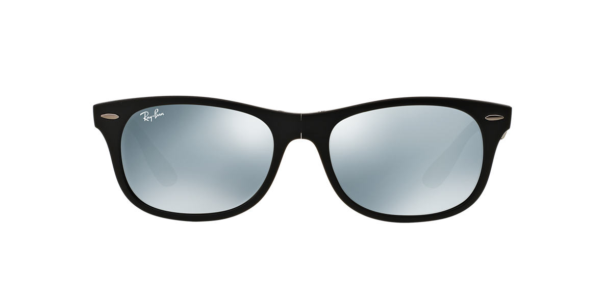 RAY-BAN Black Matte RB4223 55 Silver lenses 55mm