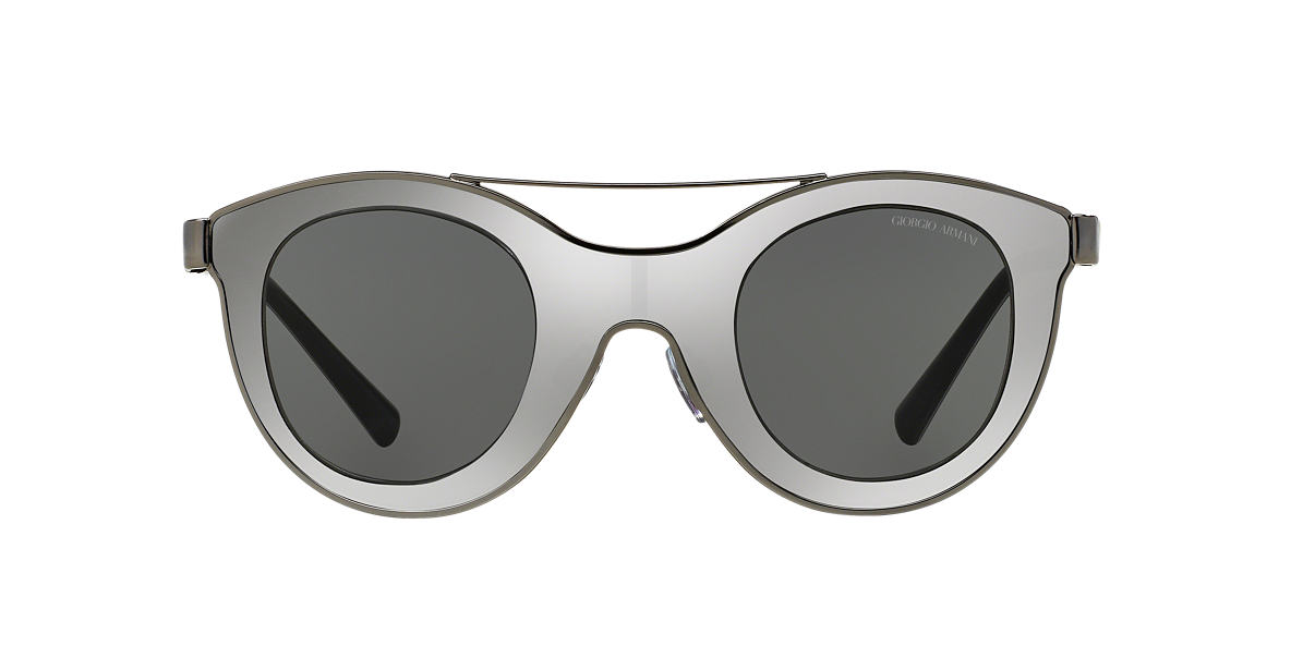 GIORGIO ARMANI Gunmetal AR6033 39 Grey lenses 39mm