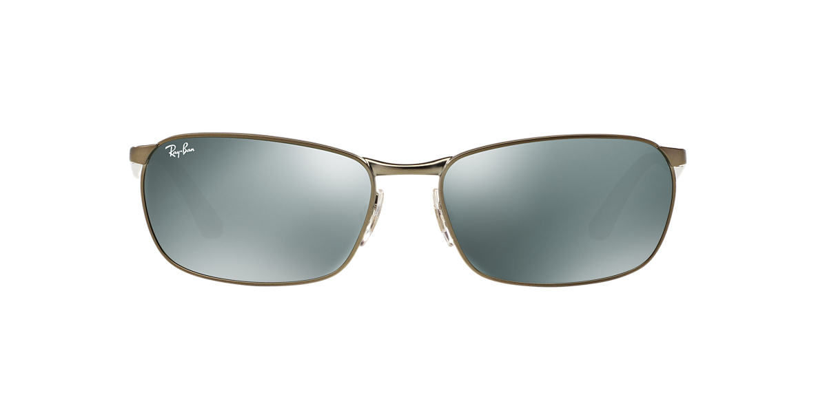 RAY-BAN Gunmetal Matte RB3534 62 Silver lenses 62mm