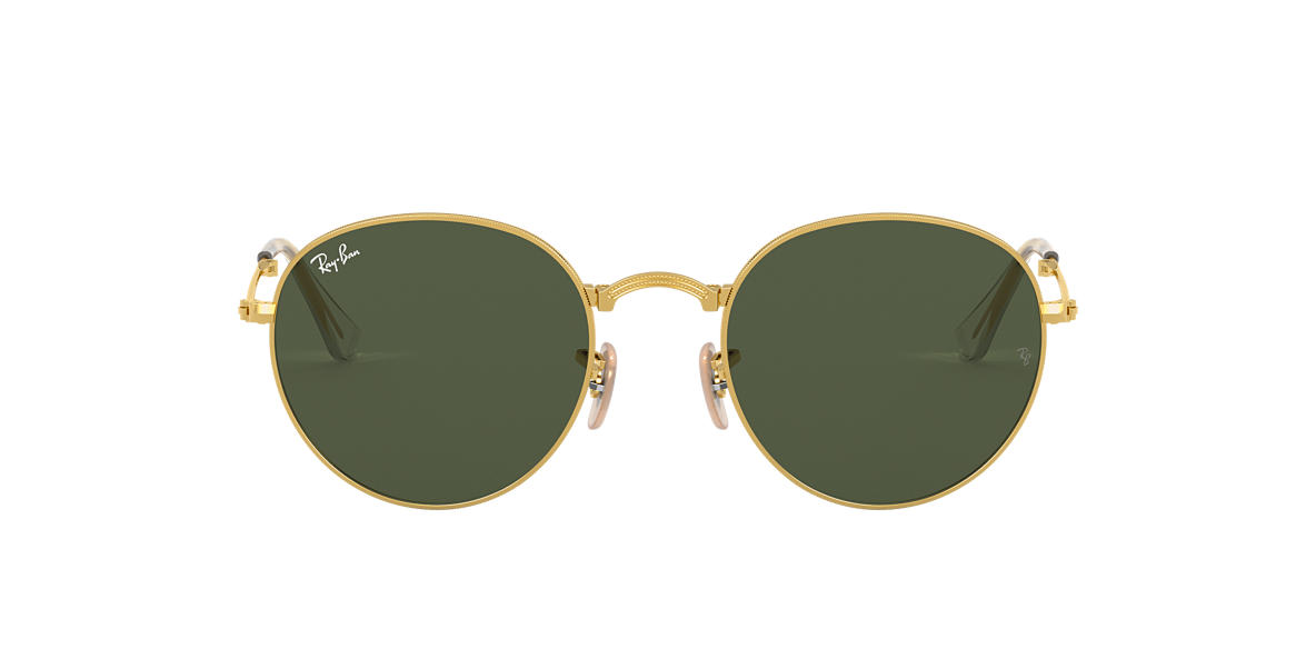 RAY-BAN Gold RB3532 50 Green lenses 50mm