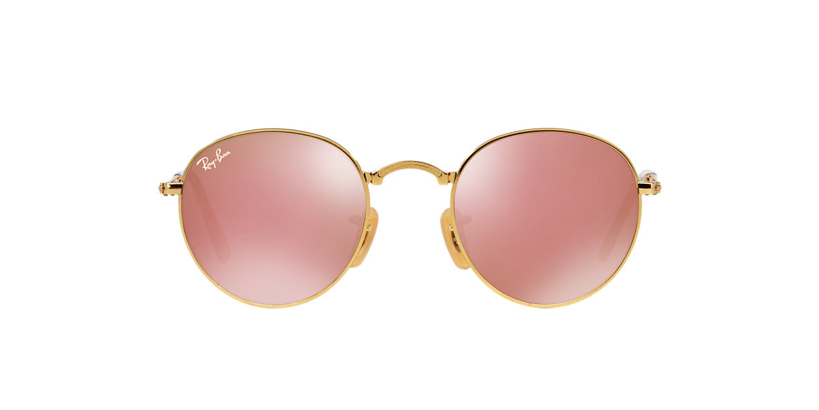RAY-BAN Gold RB3532 Brown lenses 50mm