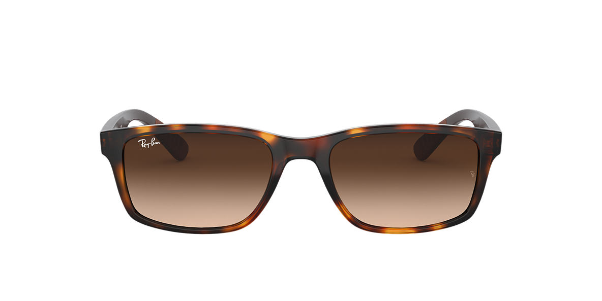 RAY-BAN Tortoise RB4234 58 Brown lenses 58mm
