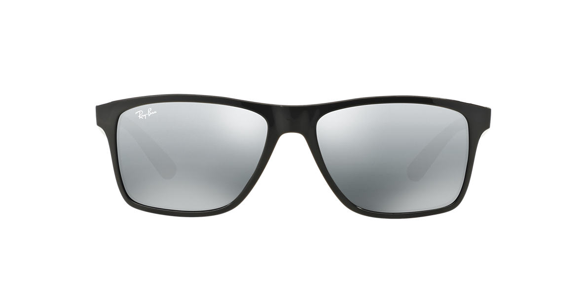 RAY-BAN Silver RB4234 Grey lenses 58mm