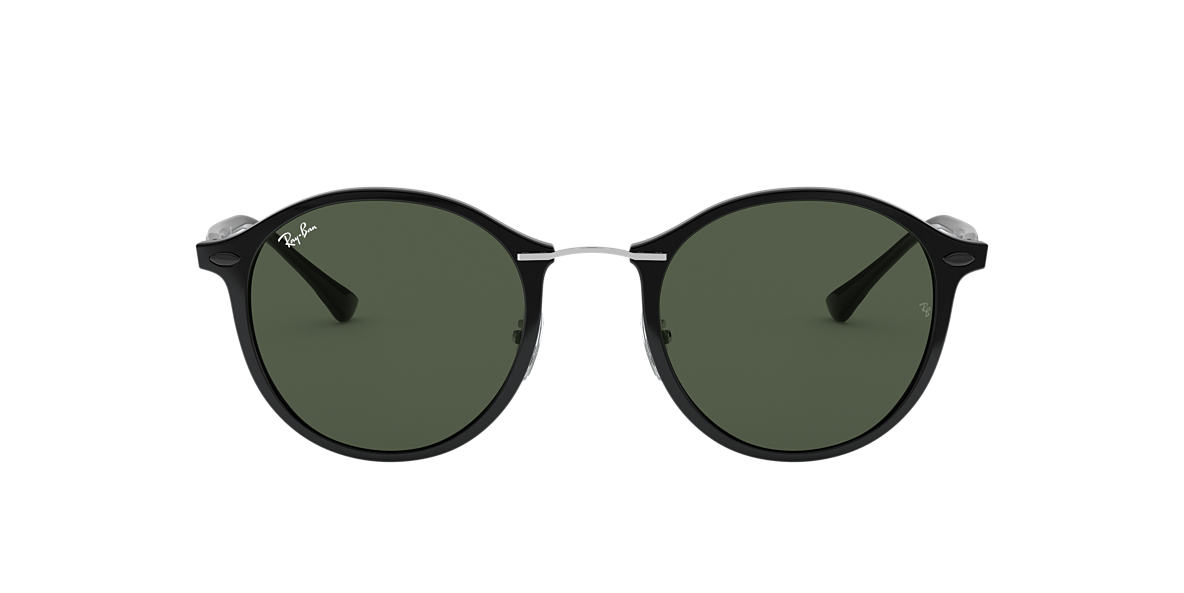 RAY-BAN Black RB4242 Green lenses 49mm