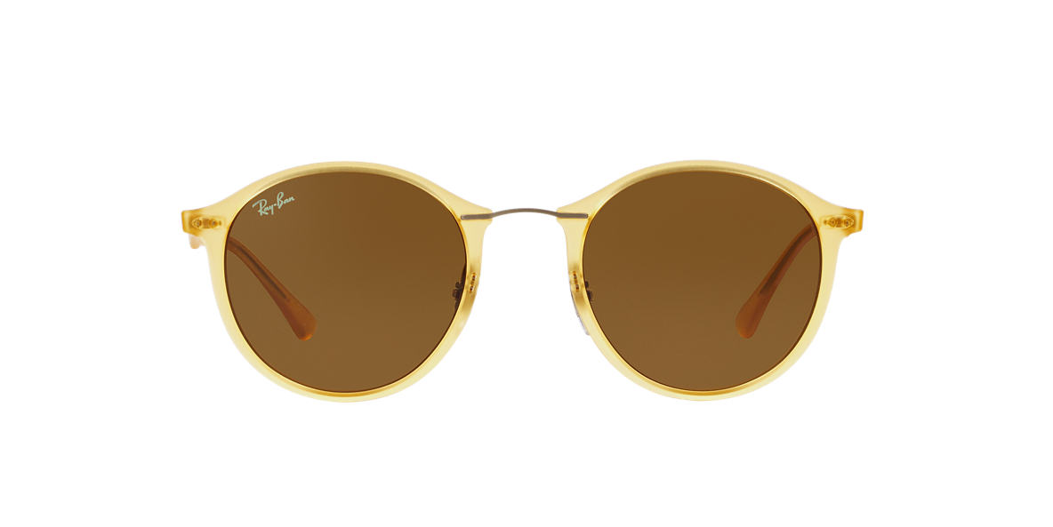 RAY-BAN Yellow RB4242 49 Brown lenses 49mm