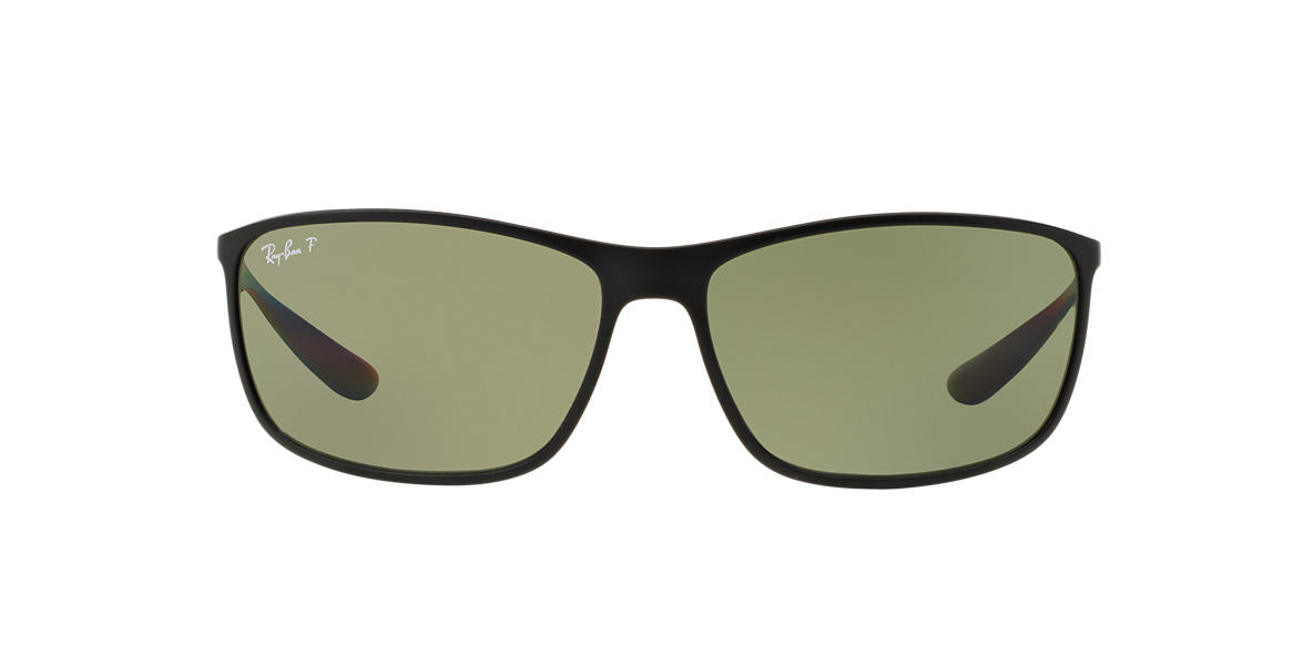 RAY-BAN Black RB4231 65 Green polarised lenses 65mm