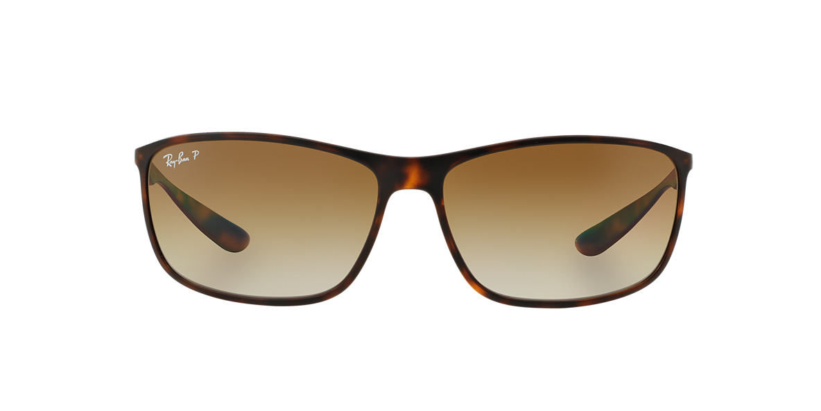 RAY-BAN Brown RB4231 Brown polarised lenses 65mm