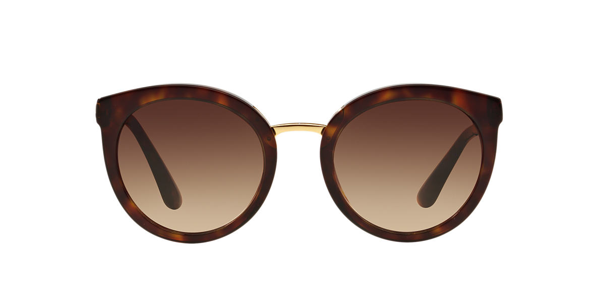 dolce and gabbana tortoise dg4268 52 brown lenses 52mm