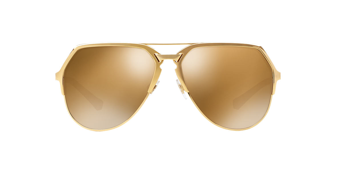 DOLCE and GABBANA Gold DG2151 59 Bronze lenses 59mm