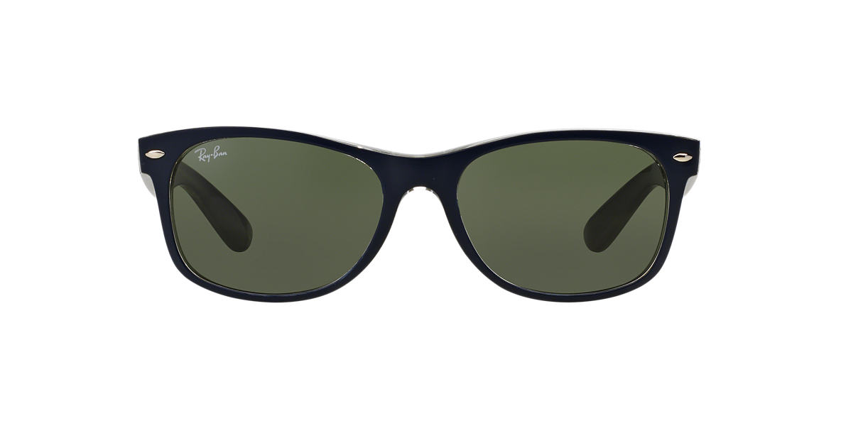RAY-BAN Blue RB2132F Green lenses 55mm