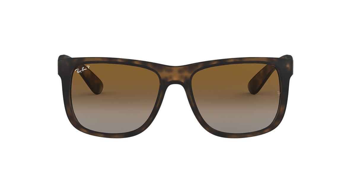 RAY-BAN Brown RB4165F Brown polarised lenses 55mm