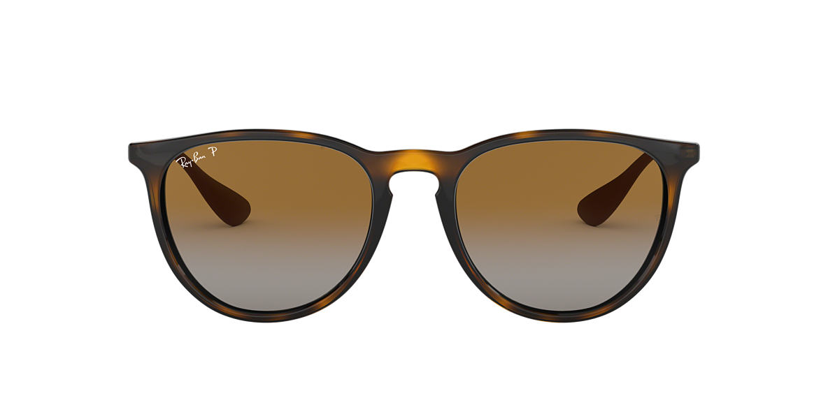 RAY-BAN Brown RB4171F Brown polarised lenses 54mm