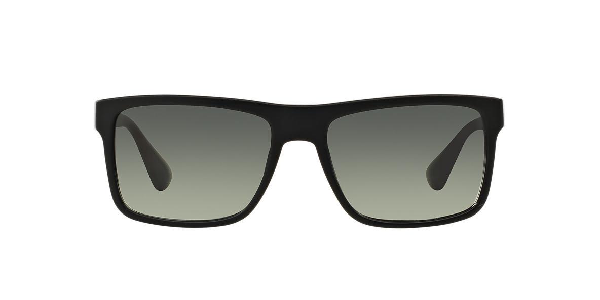 PRADA Black PR 01SS Grey lenses 57mm
