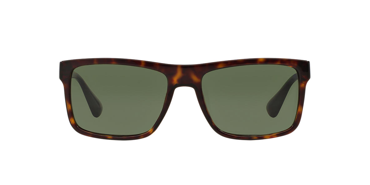 PRADA Tortoise PR 01SS Green lenses 57mm