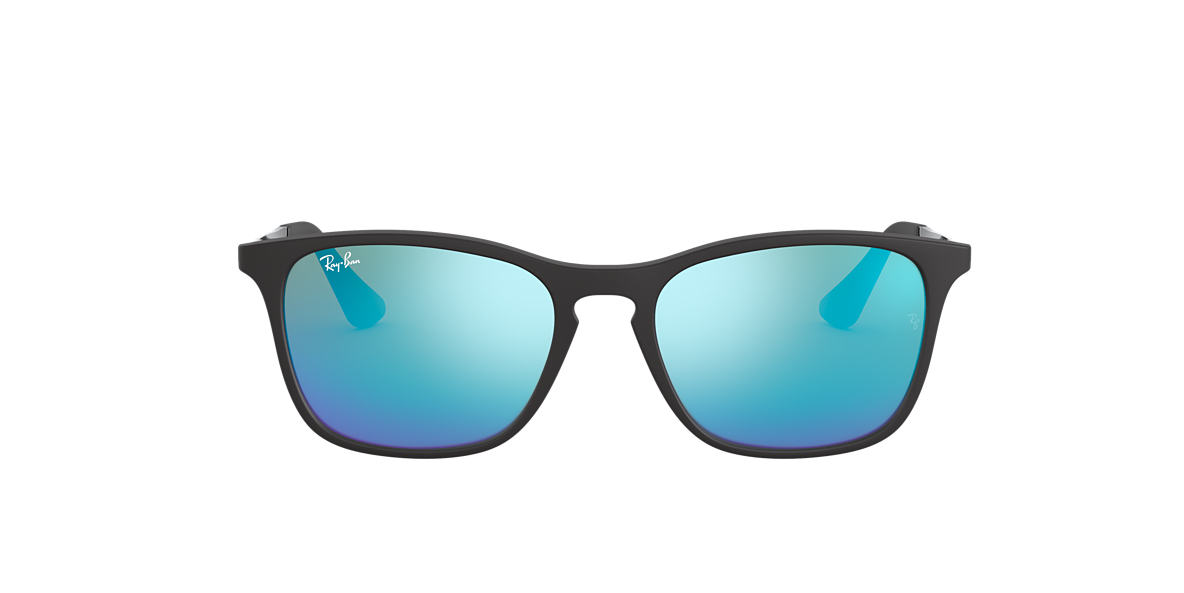 RAY-BAN CHILDRENS Black RJ9061S 49 Blue lenses 49mm