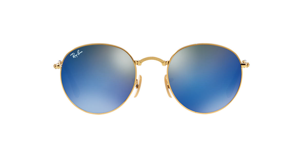 RAY-BAN Gold RB3532 50 Blue lenses 50mm