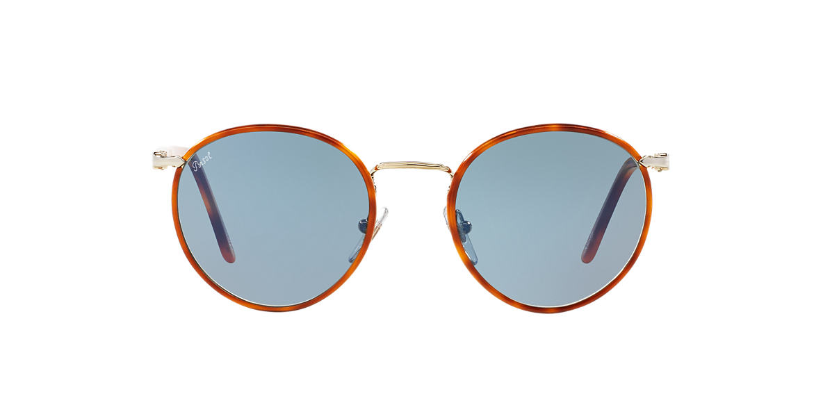 PERSOL Gold PO2422SJ 51 Blue lenses 51mm