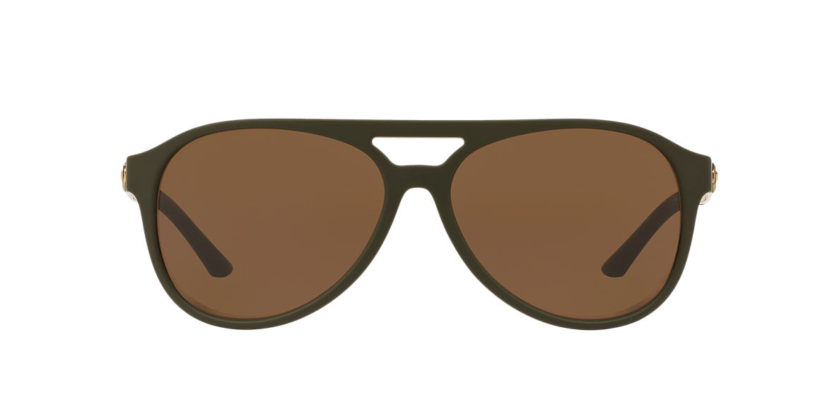 VERSACE Green VE4312 60 Brown lenses 60mm