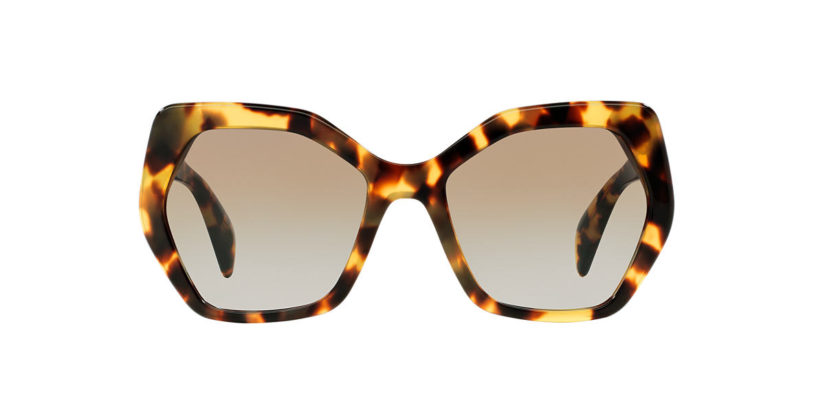 prada grey tote - Prada PR 16RS 56 Brown & Multicolor Sunglasses | Sunglass Hut USA