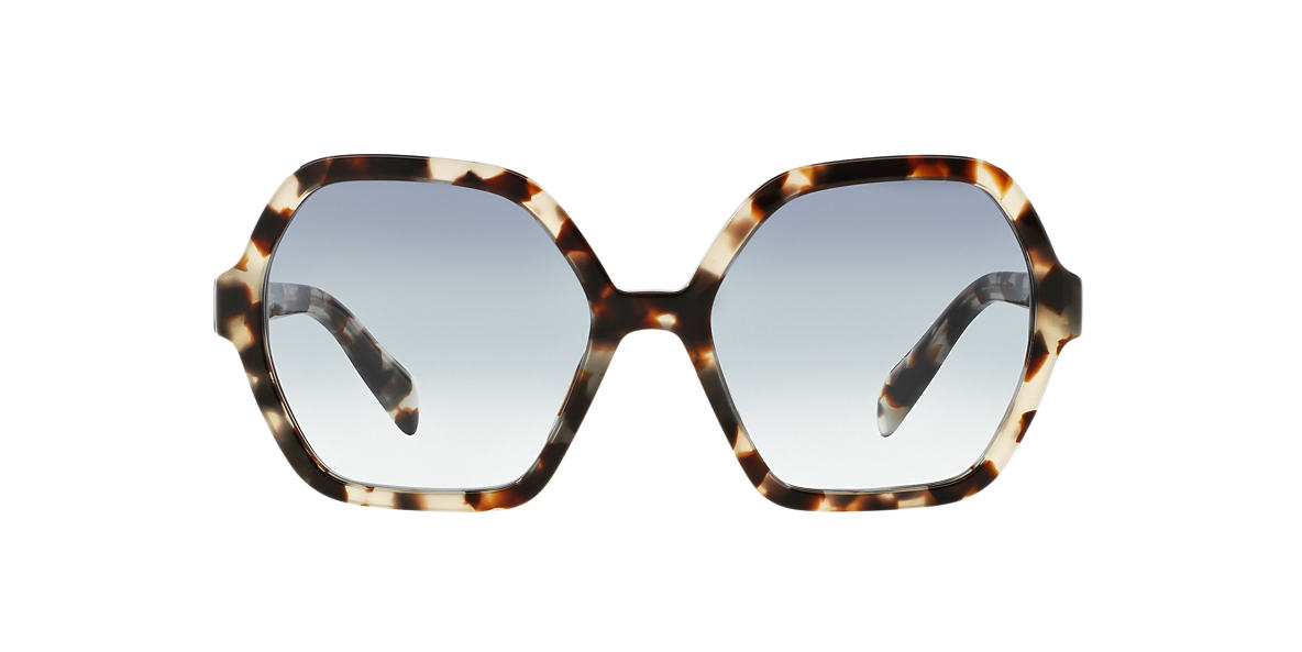PRADA Brown PR 06SS 56 Blue lenses 56mm