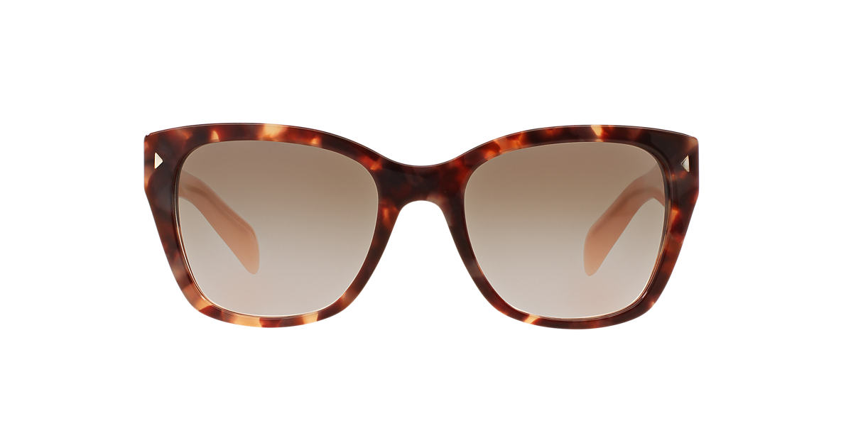 PRADA Brown PR 09SS Grey lenses 54mm