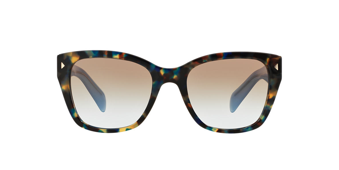 PRADA Brown PR 09SS Blue lenses 54mm
