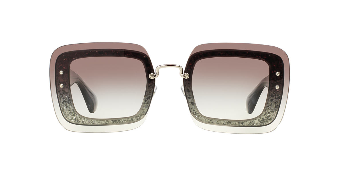 MIU MIU Grey MU 01RS 67 Grey lenses 67mm
