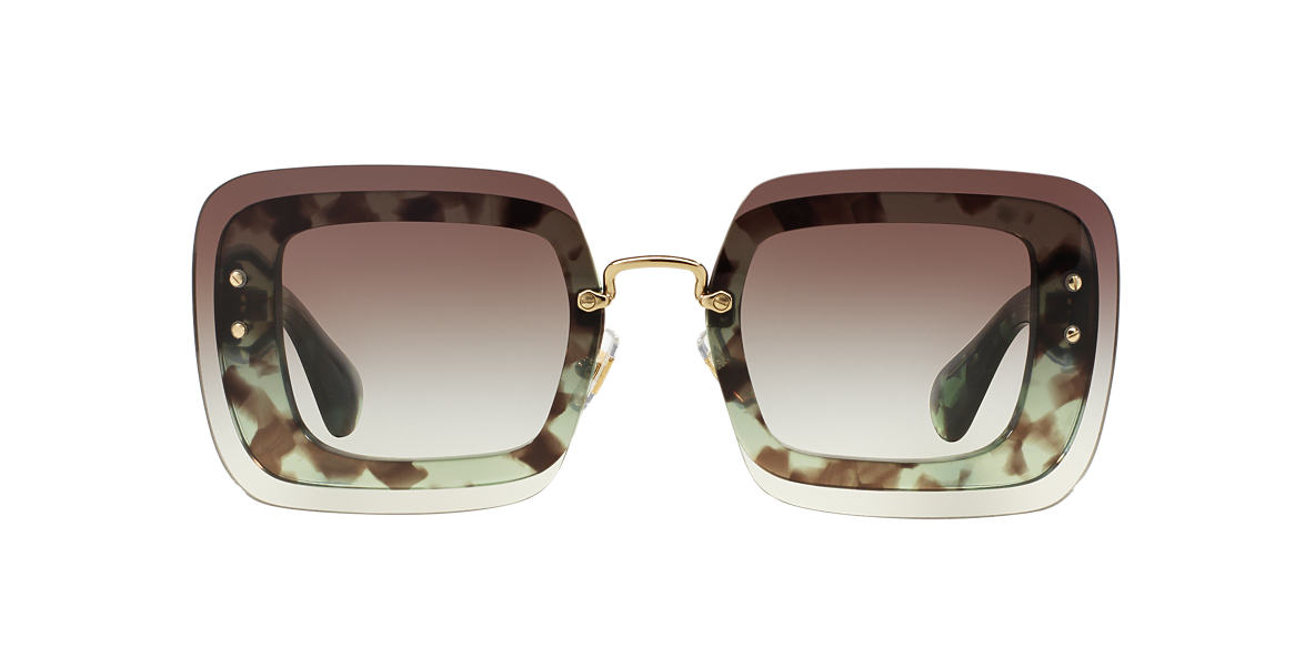MIU MIU Green MU 02RS 67 Grey lenses 67mm