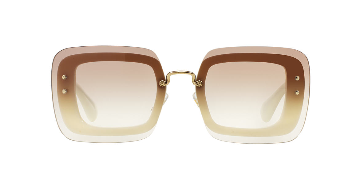 MIU MIU Ivory MU 02RS 67 Brown lenses 67mm