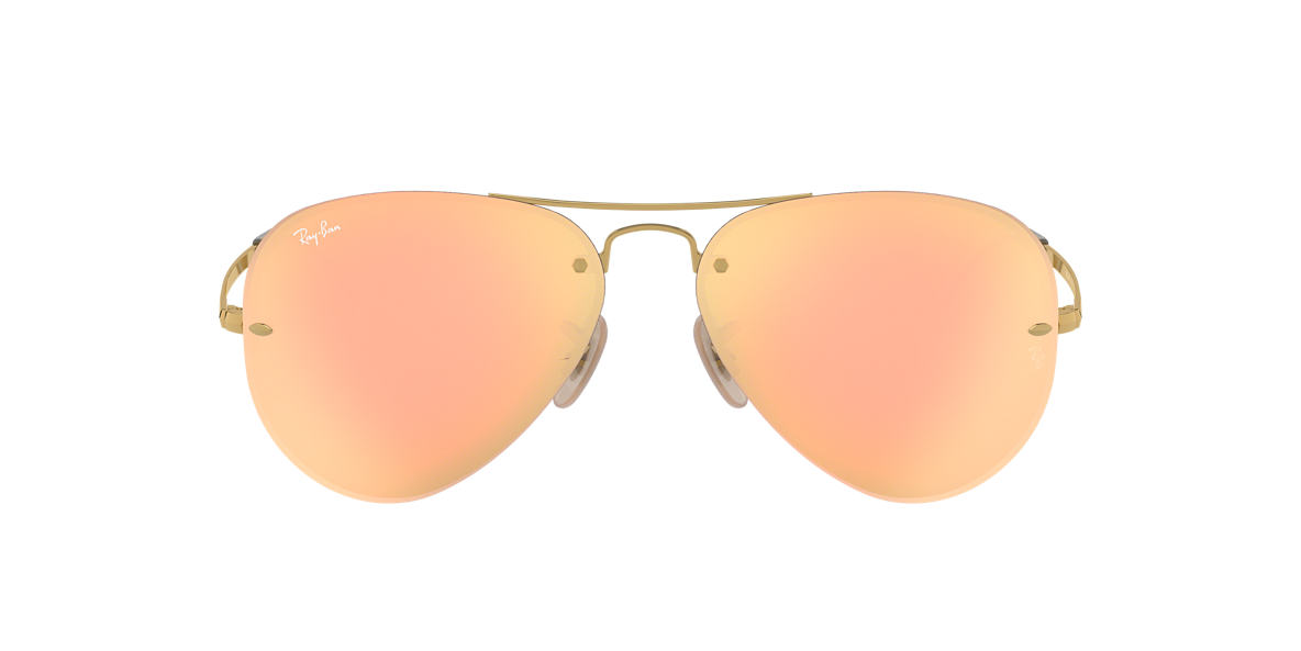 RAY-BAN Gold RB3449 59 Green lenses 59mm