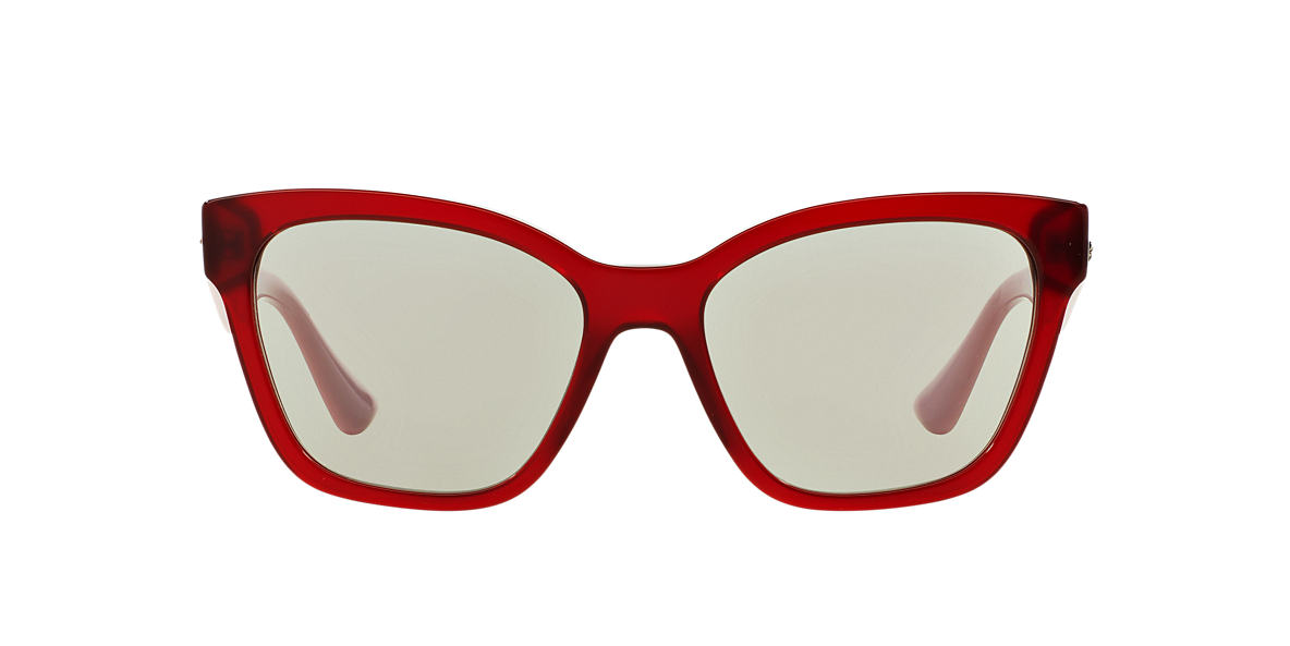 MIU MIU Burgundy MU 06RS 57 Grey lenses 57mm