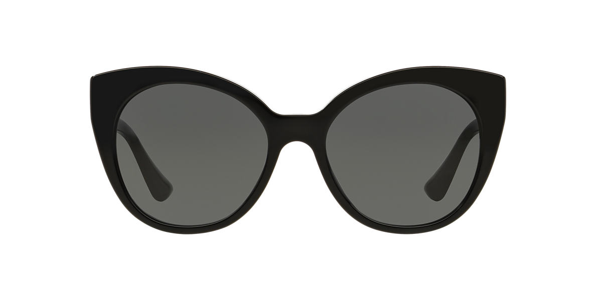 MIU MIU Black MU 07RS Grey lenses 55mm