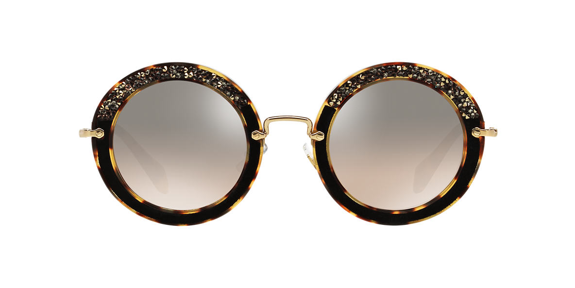 MIU MIU  MU 08RS 49 Brown lenses 49mm